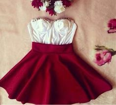 This would make an awesome Valentines day/night dress
