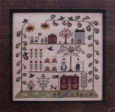 Sampler of the Season Summer - Cross Stitch Pattern