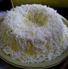 Culinária-Receitas - Mauro Rebelo: Pudim de Coco Diet (Henrique Rossi - Restaurante Augusta Natural)