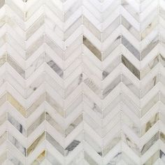 Very nice....Talon Calacatta and Thassos Marble Tile