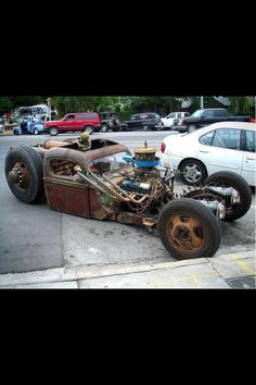 Now this is a Ratrod!!!!!!