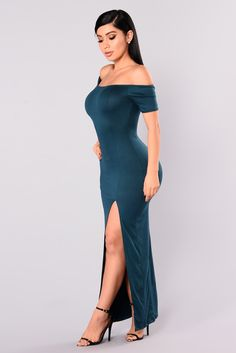 Like New Dress - Hunter Green – Fashion Nova Satin Dresses, Sexy Dresses, Nice Dresses, Hot Outfits, Girl Outfits, Jolie Photo, Hot Dress, Classy Dress, Hunter Green