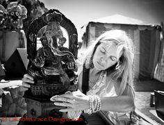 Puja feeds #energy into #faith of a greater #lifeforce energy. #BhaktiFest #Ritual #Ganesha #Photography