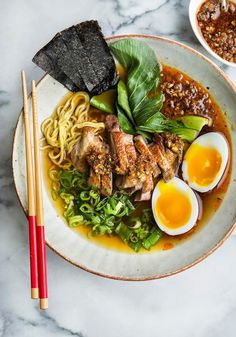 Wild Greens and Sardines : Duck Stock, Duck Ramen, Duck Heaven Ramen Recipes, Easy Healthy Recipes, Asian Recipes, Cooking Recipes, Healthy Ramen, Masterchef, Food Presentation, I Love Food, Food Inspiration