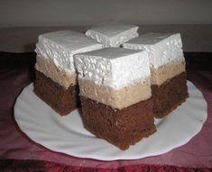 Gesztenyekocka, a habos finomság receptje » Balkonada receptek Vanilla Cake, Party Time, Baking, Recipes, Food, Bakken, Recipies, Essen, Meals