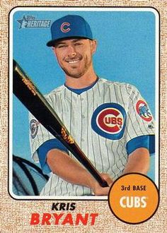 2017 Topps Heritage #500a Kris Bryant Front