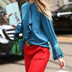 CATCH-a-TREND: The all @Gucci look Photo: @alexandthewaves #catchatrend #streetstyle #fashion #hub #online #luxury #shopping #gucci