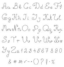 hand drawn lettering alphabet - Google Search