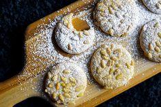 Soft + chewy Italian pignoli cookies #DitchtheRecipe #cookies