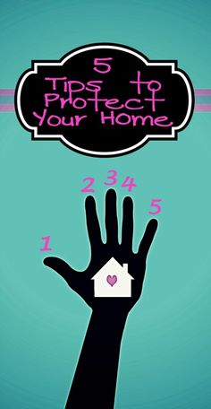 5 tips to protect your home from remodelaholic.com #home #safety #tips