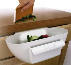 Best kitchen gadgets - Kitchen Scrap Trap - Click Pic for 30 Ideas