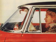 Wraparound Windshield - 1955 Plymouth