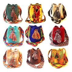 Each bag is made by one woman; therefore each design is one-of-a-kind. www.susustyle.com 20% off Easter Sale!
