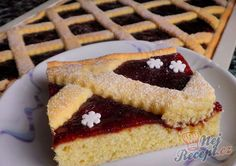 Bredele with hazelnut and candied cherries - HQ Recipes Cherry Candy, Sweet Cakes, Christmas Baking, Quick Easy Meals, Biscotti, Baking Recipes, French Toast, Cheesecake, Food And Drink