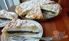 Recept Strouhaný makový koláč s tvarohem Sweet Life, Desert Recipes, Food Styling, Confectionery, Sweet Tooth, Deserts, Muffin, Food And Drink, Cooking Recipes