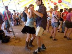 ▶ Zydeco dancing to Preston Frank Grassroots 2010 - YouTube - I want to dance like this every night!!