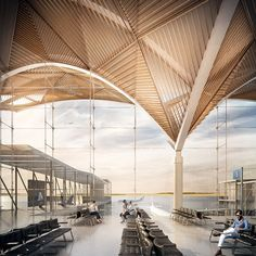 Majestic 23 The Amazing Airport Architecture https://vintagetopia.co/2018/04/03/23-the-amazing-airport-architecture/ Its design permits the ideal use of pure light, causing an energy demand that is lower than the average
