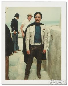 Brand-New Behind-the-Scenes Stills From Star Wars Episode IV: A New Hope -- A Polaroid of Biggs.