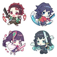 Read Demon Slayer / KimetsuNoYaiba-Online Best Manga Online in High Quality Kawaii Anime, Loli Kawaii, Cute Anime Chibi, Kawaii Chibi, Kawaii Art, Anime Angel, Anime Demon, Manga Anime, Anime Art