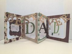 Best Dad Ever Accordion by karjor - Cards and Paper Crafts at Splitcoaststampers
