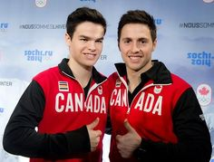 Alexandre Bilodeau et Mikaël Kingsbury Winter Olympics 2014, Olympic Athletes, Canada, Olympians, Inspired, Celebrities, Sports, People, Winter