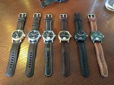 A herd of Pinion watches. #pinion #britishwatches