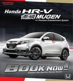 Honda HRV 1.5Mugen ready stock  Honda Denpasar Agung Yaya Nita 08175170486 082144109072 www.denpasarmobilhonda.wordpress.com