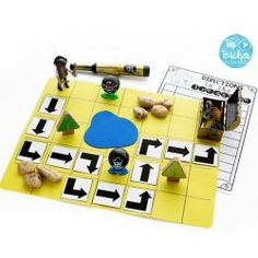 Incorporating coding into your classroom doesn't have to mean using Beebots, iPads and other gizmos! This activity is a great example of how you can introduce the concept of coding in a simple, hands on, cost effective way! Read more about this awesome ac Inspired Learning, Fun Learning, Steam Activities, Preschool Activities, Computational Thinking, Coding For Kids, Love Math, Little Pigs, Digital Technology