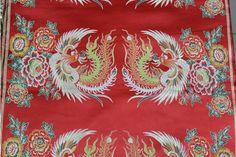 Hangzhou telas de seda cheongsam vestido de la bandera de mesa cortina amortiguador de la almohadilla de tejidos imitación china del tradicional