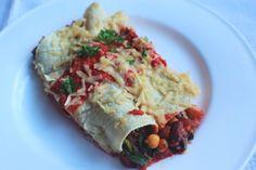 Spicy Bean Vegan Enchiladas - Bute Island Foods - GF / DF