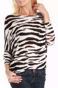 Zebra Print Top