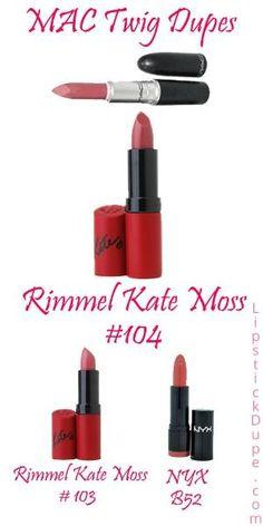 MAC Twig Lipstick Dupes! - Lipstick Dupe Lipstick Dupe by estelle