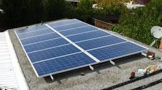 solar panels on roof - Google Search