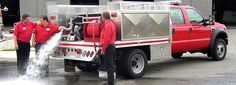 Wildland Fire Truck bodies for fighting off road fires by Highway Products.