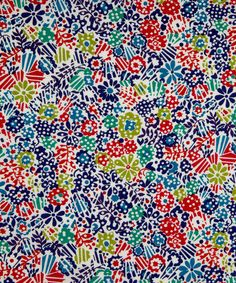 LIberty London / Loosely inspired by an archival print from this is a modern polka dot hatched floral with linear lines and geometric structure. Pink Patterns, Cool Patterns, Textures Patterns, Pattern Designs, Liberty Art Fabrics, Liberty Print, Conversational Prints, Gorgeous Fabrics, Cool Fabric
