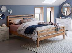 Light wood bed frame sleep 70 ideas for 2019 Bedroom Furniture Sets, Bed Furniture, Bedroom Decor, Bedroom Ideas, Furniture Outlet, Bedroom Inspiration, Discount Furniture, Furniture Makeover, Furniture Ideas