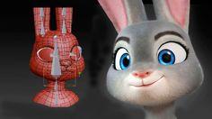 Modeling Judy Hopps in Blender