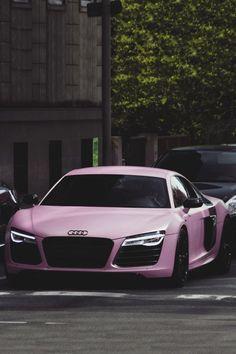 #Audi R8 Pretty in Pink