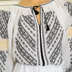 Costumes, Popular, Embroidery, Chic, Long Sleeve, Casual, Sleeves, Women, Fashion