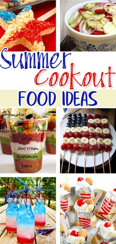 Summer Cookout Food Ideas - Summer BBQ Party Food Ideas for Entertaining a Crowd! Summer Neighborhood Block Party Food Ideas - simple and easy outdoor summer party food ideas for a crowd
