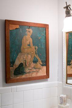 Ashley's Memory-Filled West Village Studio ~ETS #painting #femalenude