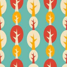 indian summer fabric by oleynikka on Spoonflower - custom fabric
