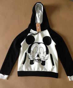 Moletom Punk Mickey