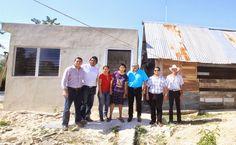 Periodismo sin Censura: Inicia entrega de pies de casa en la zona rural