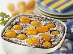 Süßer Auflauf mit Aprikosen ist ein Rezept mit frischen Zutaten aus der Kategorie Steinobst. Probieren Sie dieses und weitere Rezepte von EAT SMARTER!
