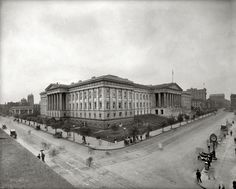 (c. 1920) U.S. Patent and Trademark Office in Washington, D.C.
