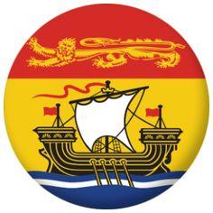 New Brunswick Province Flag
