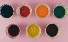 Saiba como fazer corantes naturais em casa - Rainha da Cocada - GNT