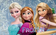 Take a look at some awesome fan art imagining a Frozen/Tangled mashup