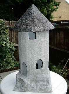 Paper mache Project, Wizards Tower part 7